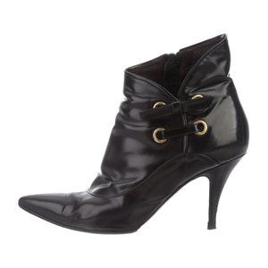 Viktor & Rolf VINTAGE Black Leather Ankle Boots